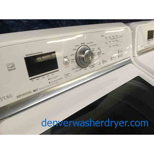 Magnificent Maytag Bravos Mct Washer And Dryer Set 3154