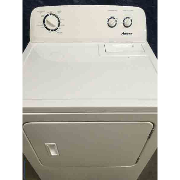 Amazing Lightly Used Amana Dryer With 6-Month Warranty