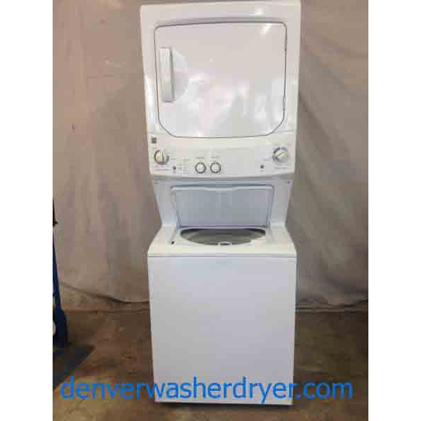 kenmore 27 newer model stacked washer and dryer super combo