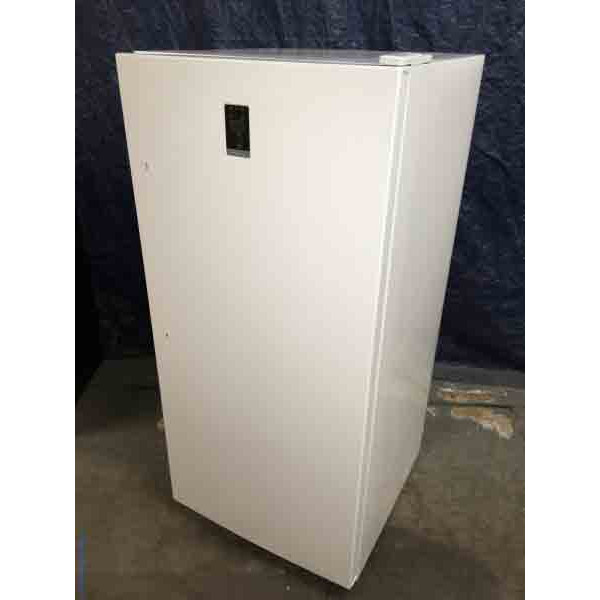 NEW! Upright Convertible Refrigerator Freezer, 13.8 Cu. Ft., Discount