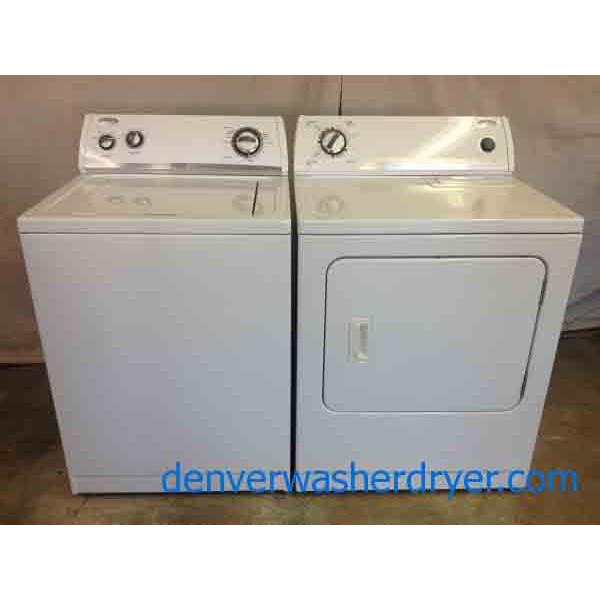 Whirlpool Super Capacity Washer Dryer Set 2350