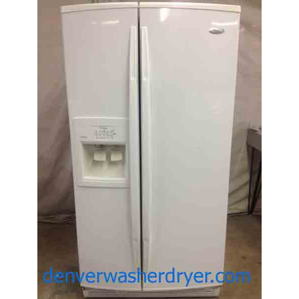 whirlpool gold series refrigerator. white whirlpool gold side by refrigerator! series refrigerator n