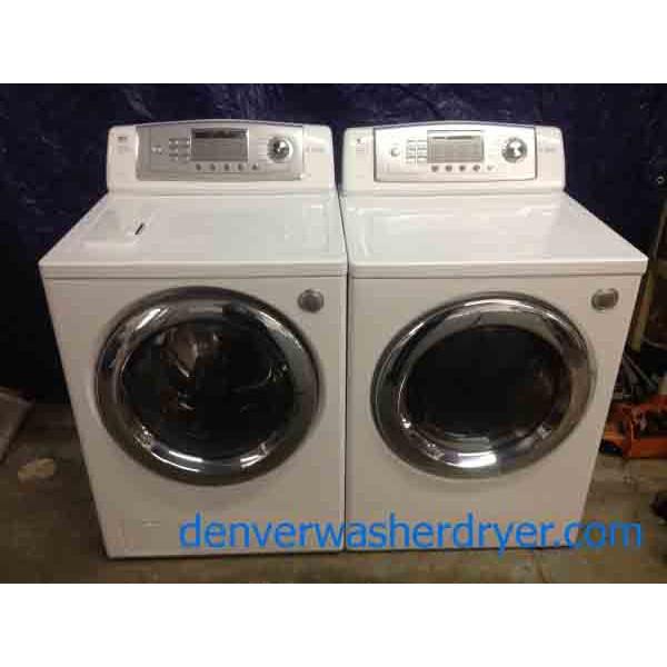 Fantastic Lg Tromm Set 2400 Denver Washer Dryer