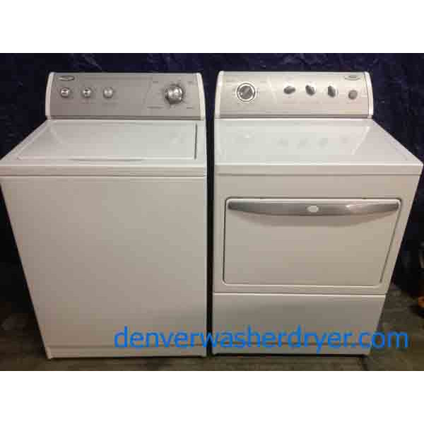Commercial Quality Whirlpool Washer Dryer Set 2452