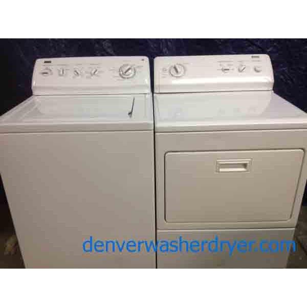 Heavy Duty Kenmore Elite King Size Washer Dryer Set