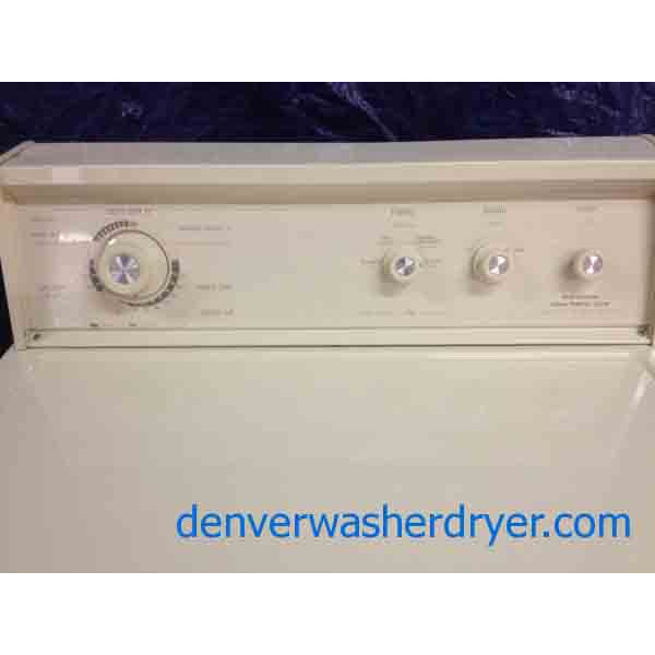 Gorgeous Almond Extra Large Capacity Plus Kenmore Dryer