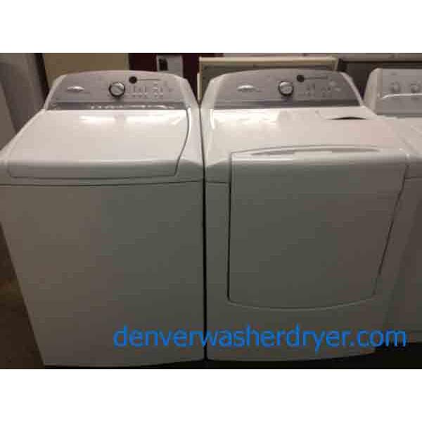 High Efficiency Whirlpool Cabrio Washer Dryer Set 2480
