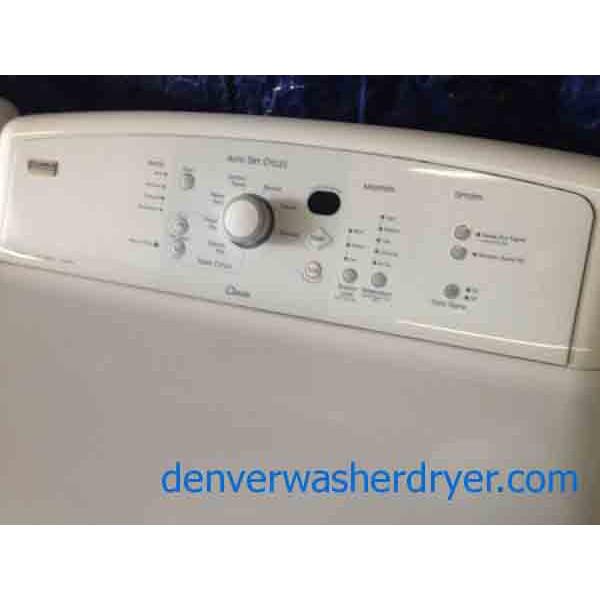 Kenmore Elite Oasis Washer Dryer Set 2488 Denver