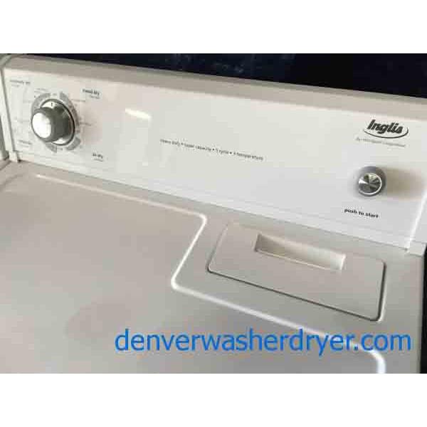 inglis dryer owners manual