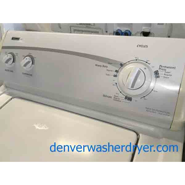Basic User Friendly Kenmore 400 Washer 2551 Denver