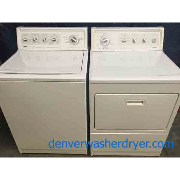 King Size Kenmore Elite Washer And Dryer Set 2255