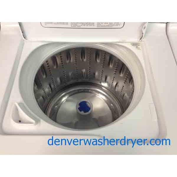 Ge Washer Dryer Set Energy Star Stainless Steel Basket