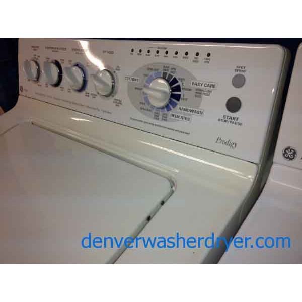Electrifying Ge Profile Washer Dryer Matching Set Prodigy