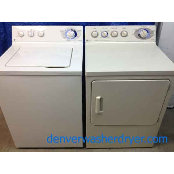 Ge Washer Dryer Beige Almond Color 646 Denver Washer