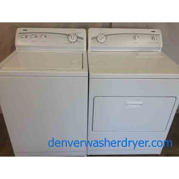 Kenmore 500 Series Washer Dryer Set 2043 Denver
