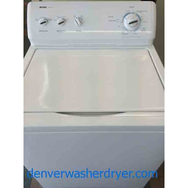 Kenmore 600 Series Washer Super Capacity Plus Recent