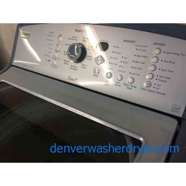 Kenmore Elite Oasis Washer Dryer Set Blue Energy Star
