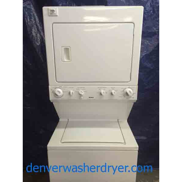 Kenmore Stack Washer Dryer Full Size Heavy Duty 1581