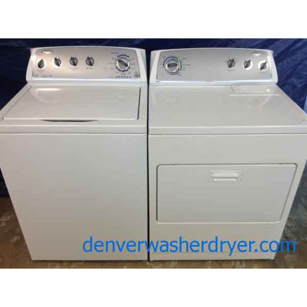 Whirlpool Washer Dryer Like New High Efficiency 2 Years