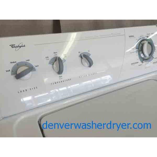 Whirlpool Super Capacity Washer Dryer Set Great Set