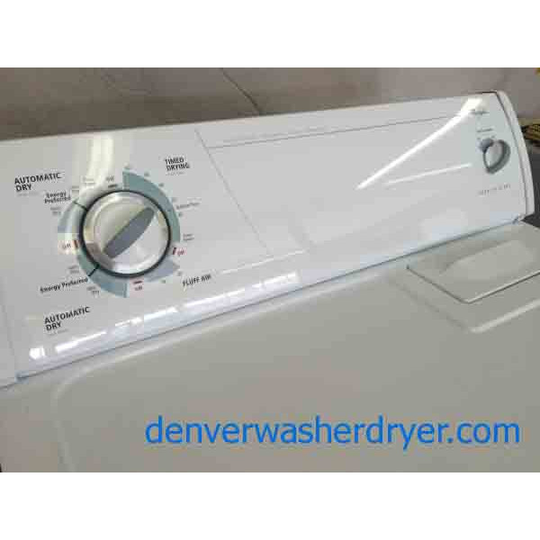 Whirlpool Apartment Size Washer And Dryer: Whirlpool Super Capacity Washer/Dryer Set, Great Set
