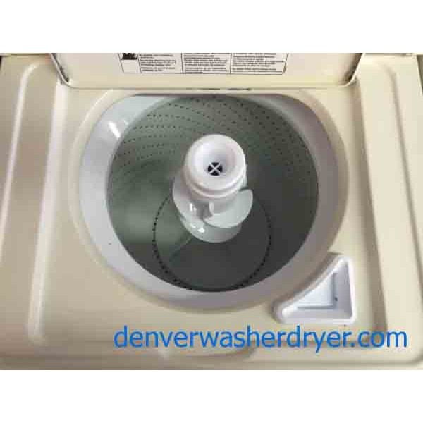 Beautiful Whirlpool Washer Dryer Set Almond 1598