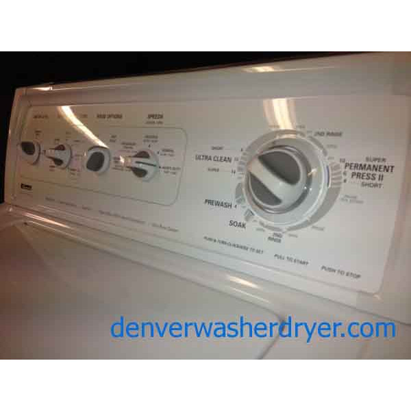 Limited Edition Kenmore Washer Dryer Matching Set Loaded