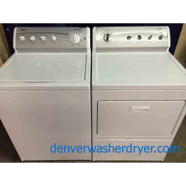 kenmore 800 washer. kenmore 800 series washer/dryer matching set, super capacity, heavy duty washer