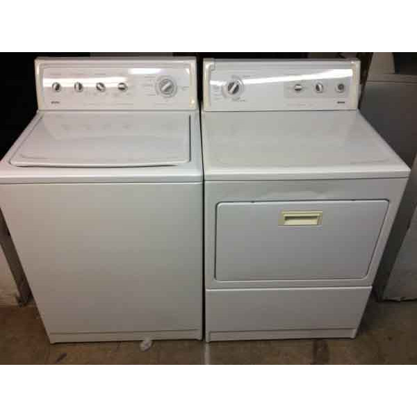Thrifty Kenmore Elite Washer/Dryer, Matching Set
