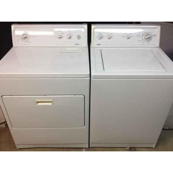 Kenmore 80 Series Washer/Dryer Set