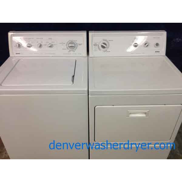 Kenmore 80 Series Washer/Limited Dryer
