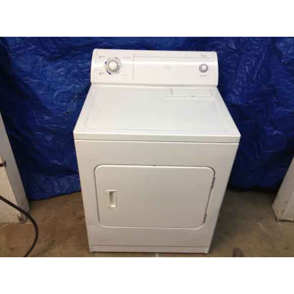 Kick Butt Whirlpool Dryer