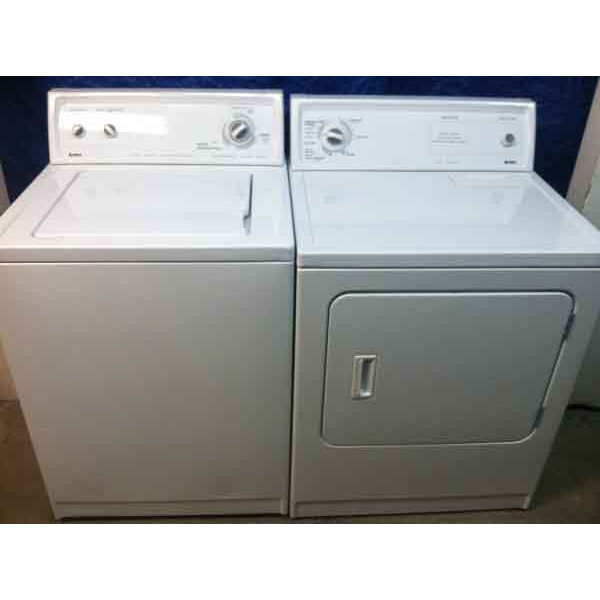 White Kenmore Washer/Dryer