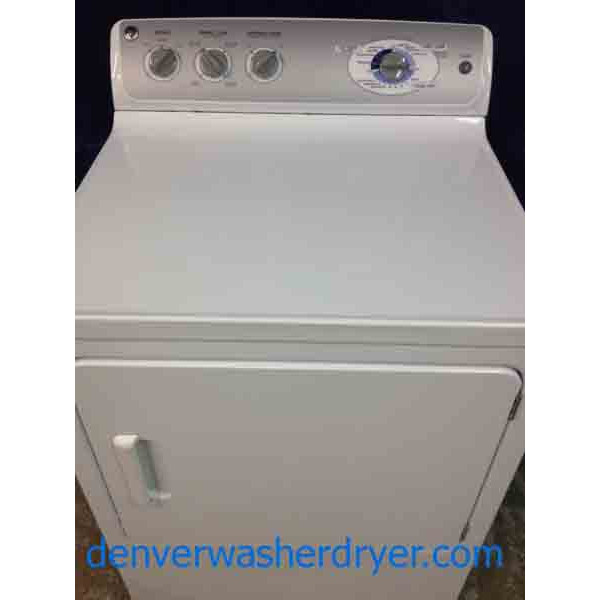 Ge Dryer Recent Model Stainless Steel Drum King Size