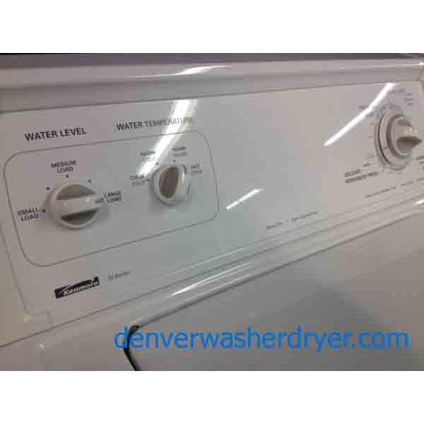 Kenmore 70 Series Washer Dryer Super Capacity Plus 1315 Denver Washer Dryer