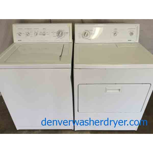 kenmore 90 series. kenmore 90 series washer/70 dryer, set, heavy duty e