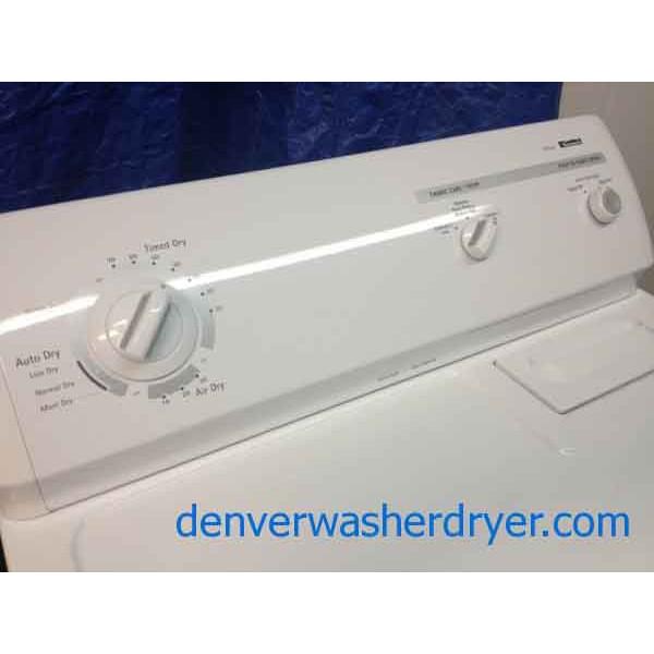 Kenmore 80 Series Washer / 70 Series Dryer