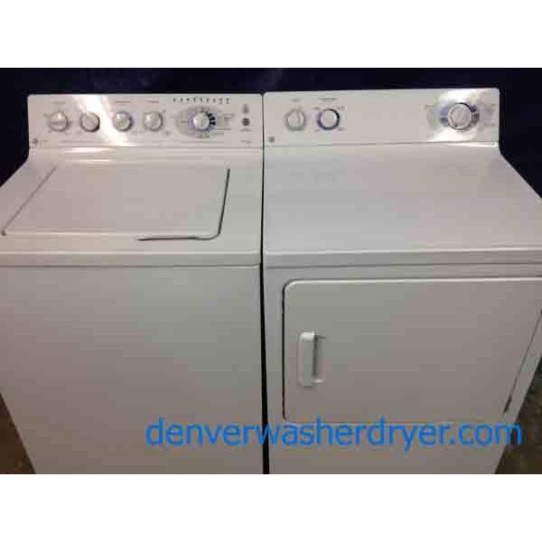 Ge Prodigy Profile Washer Dryer Nice Set 1346