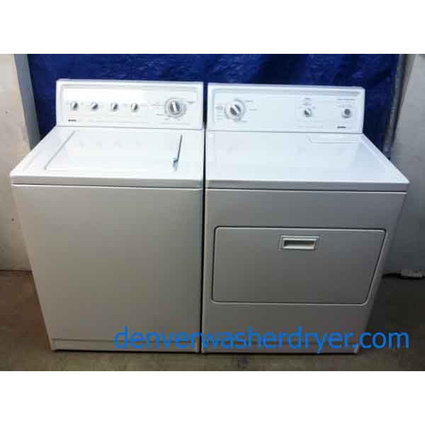 Breathtaking Kenmore 80 Series Washer/Dryer