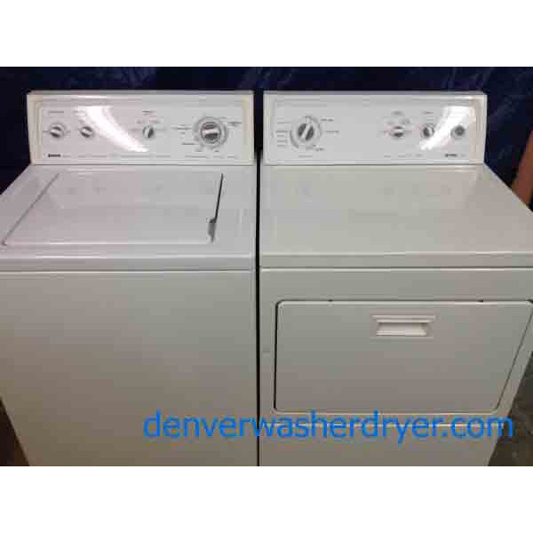 Kenmore 80 Series Washer/90 Series Dryer