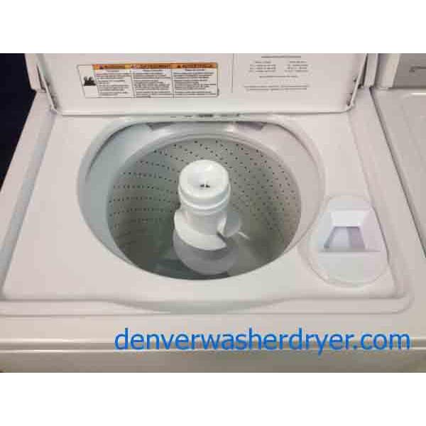 Whirlpool Ultimate Care Ii Washer Dryer Set Sharp Looking