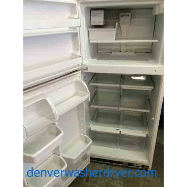Kenmore 18 Cubic Foot Refrigerator Glass Shelves