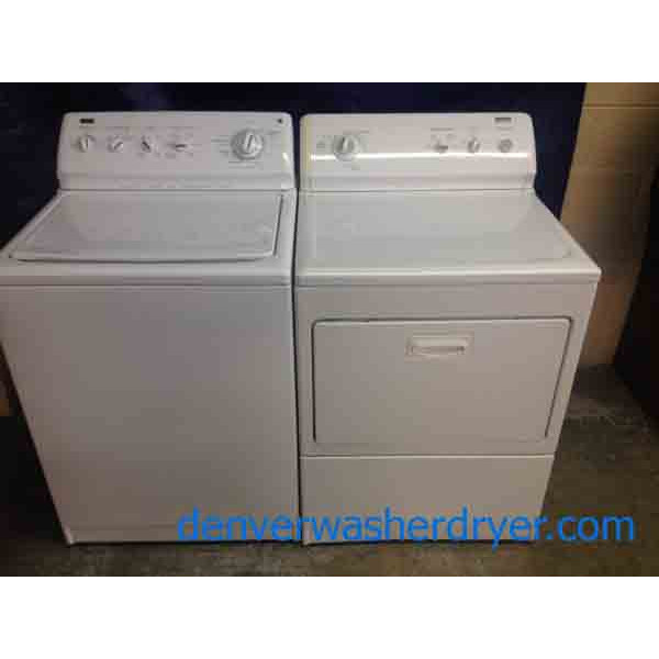 Kenmore Elite Washer Dryer Set King Capacity Energy Star