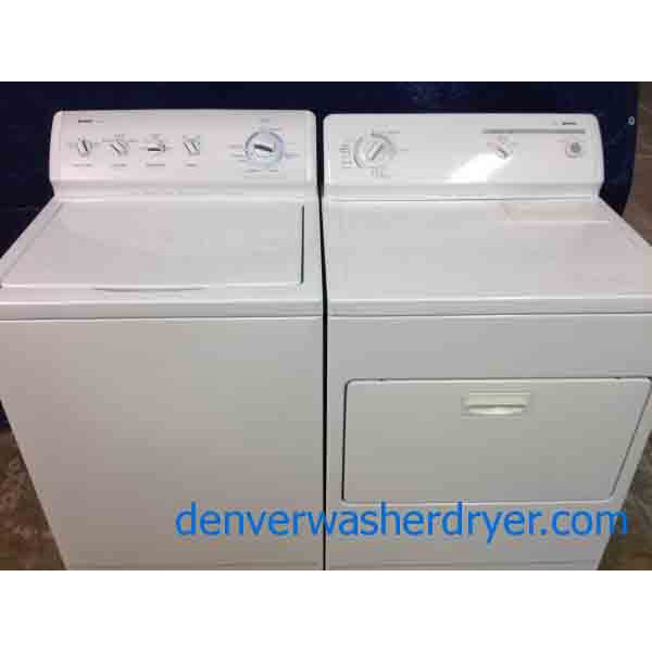 Kenmore 800 Series Washer/80 Series Dryer