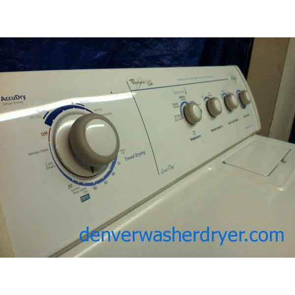 whirlpool gold ultimate care ii dryer - #491 - denver washer dryer