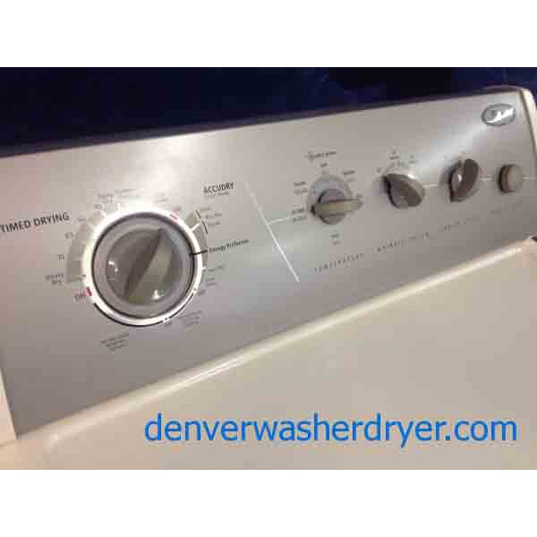 Whirlpool Gold Washer Gas Dryer Ultimate Care Ii