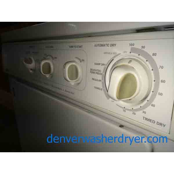 Wonderful White Front Load Kenmore Dryer Stainless Drum
