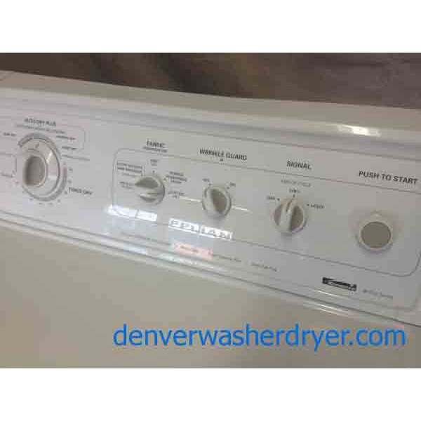 Magnificent 90 Series Kenmore Washer/Dryer Set