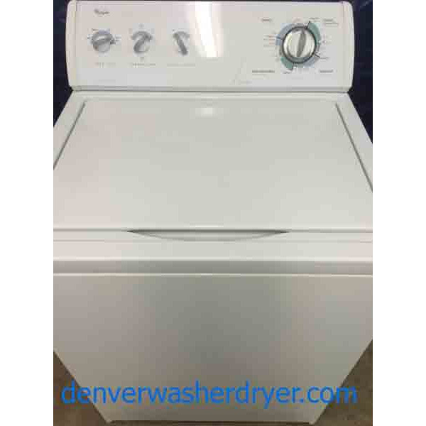 Whirlpool Washer Commercial Quality Super Capacity Plus
