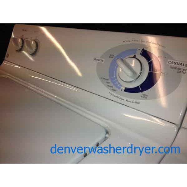 Reliable Ge Washer And Dryer Set 888 Denver Washer Dryer